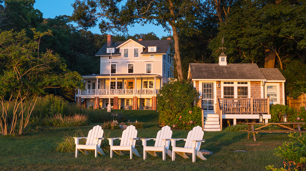 Wickford Beach Rhode Island Architecture